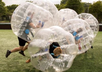 Bubble voetbal fun