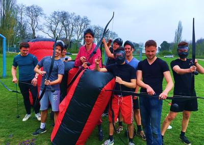 Archery Tag vrijgezellenfeest mannen