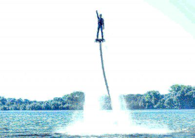 Flyboarden fun